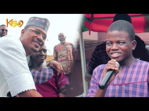 MOST EMOTIONAL! Shina Peller Celebrates birthday With Talented Blind and partially sighted Kids