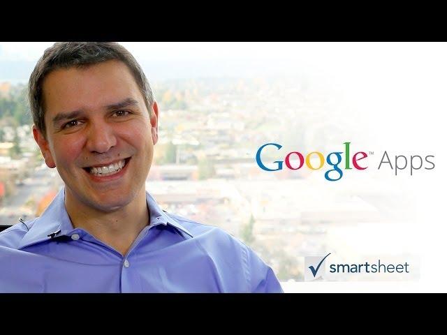 Smartsheet and Google Apps
