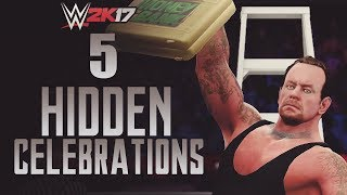 WWE 2K17 | 5 Hidden Celebrations (Video)