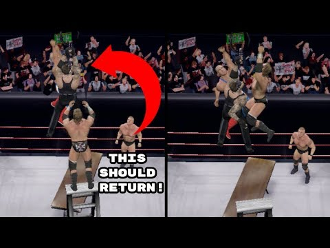 10 Unique WWE Games Features That Have Only Appeared Once Ever