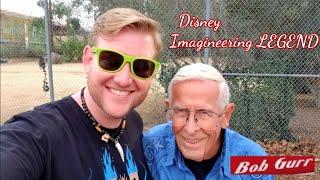 #899 A Day w/ DISNEY IMAGINEERING LEGEND Bob Gurr - Jordan The Lion Daily Travel Vlog (1/22/19)