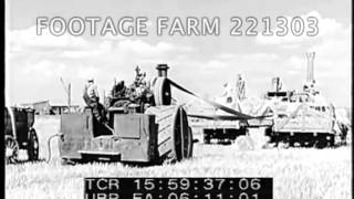 1920s & 1930s Mid-West Agriculture 221303-10 | Footage Farm