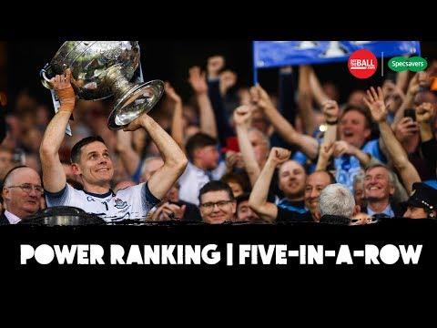 Power Ranking Dublin's five-in-a-row | Which final win was best?