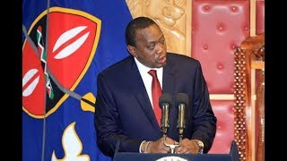 President Uhuru warns all corrupt state officers during the State of the Nation Address