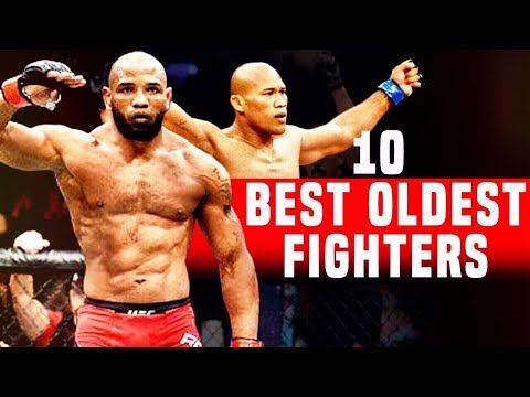 10 Best Oldest Fighters In The UFC