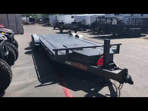 "2019 MAXXD TRAILERS 24' X 80"" 10K DROP-N-LOAD in Elk Grove, California - Video 1"