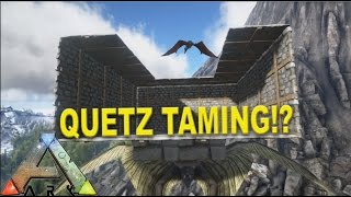 Ark survival evolved tapejara solo tame tapejara trap quetzal traping and taming taming tips and tricks ark survival evolved ep10 malvernweather Choice Image