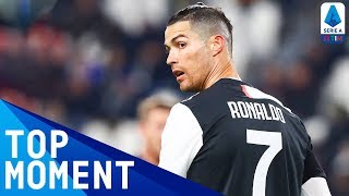 CR7's Match Winning Goal | Juventus 2-1 Parma | Top Moment | Serie A TIM