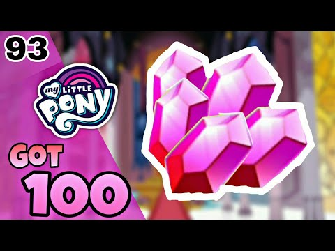 My little pony part 93 got 100 gems from shadow play LTS (catch the play).