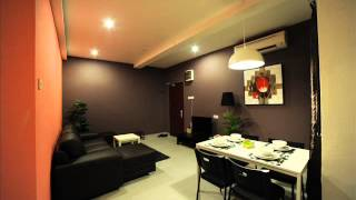preview picture of video '3 Bedroom Family Suite in The Osborne Apartment Ipoh Perak Malaysia'