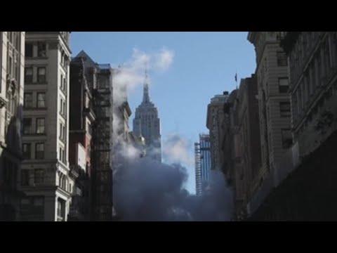Desalojos y cortes de tráfico por la explosión de una tubería en Nueva York