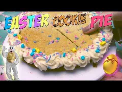 HOW TO make an EASTER COOKIE PIE.