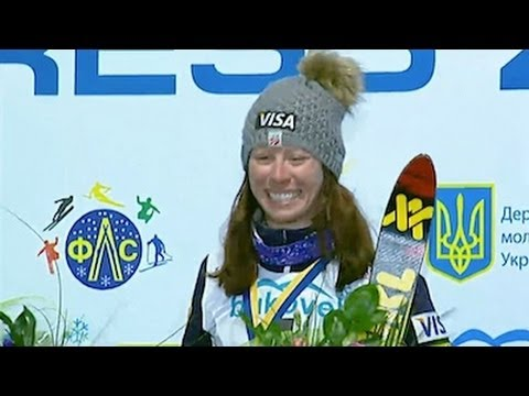 American Emily Cook wins Aerials at Bukovel - Universal Sports