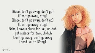 David Guetta, Raye   Stay (Don't Go Away)(Lyrics) 🎵