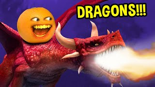 Annoying Orange - Attack of the Dragons!