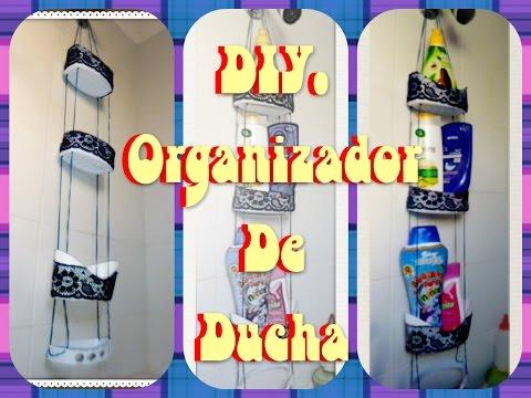 DIY. Organizador de ducha   Manualidades Yeye
