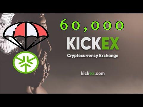 Ganhe U$31 Dólares Grátis na Exchange Kickex !!!!!! Já Listado no Coinmarketcap 🚀.
