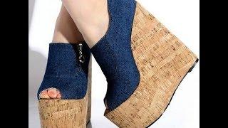 Туфли на Танкетке - купить - 2017 / Wedge Shoes - Buy