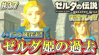 【NS】ゼルダ姫の悲しい過去!ゼルダの伝説 ブレスオブザワイルド 実況プレイ!#37【ニンテンドースイッチ】