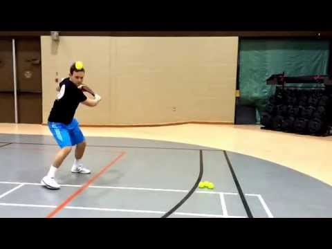 Slow-motion Backhand