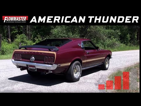 1967-70 Ford Mustang V8 - American Thunder Header-Back Exhaust System