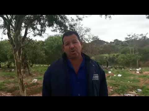 Manoel Pereira, sepultador e diretor do Sindsep fala das condições nos cemitérios