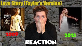 Musician Reacts- Love Story (Taylor's Version) + Side By Side Analysis