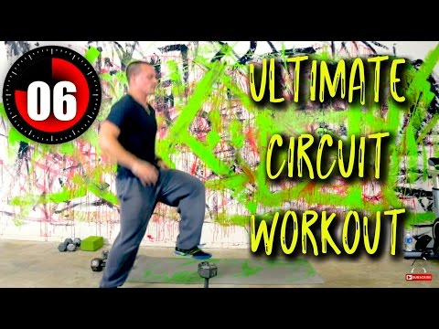 ULTIMATE CIRCUIT WORKOUT... Boost Your Metabolism and Sexiness