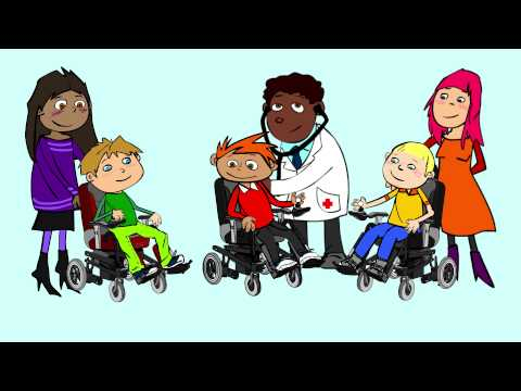 Screenshot of video: Living with Duchenne - Takin Charge