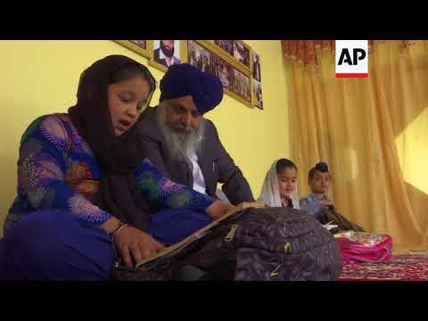 अफगान सिख नेता अल्पसंख्यक सिकुड़ती के लिए आशा रखती है