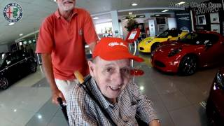 Arnold Chatz Cars Alfa Romeo club of SA helped an elderly gents