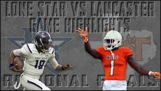 Frisco Lone Star vs Lancaster - 2019 Texas High School Football Playoffs - Region Finals Highlights