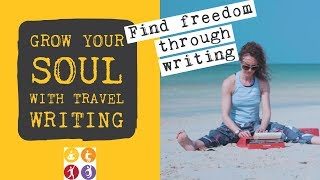 How to write about travel experience and travel journal ideas: WRITING VLOG!