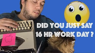 How to survive working 14-16 hours a day   Dev Tips
