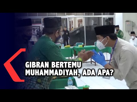 gibran bertemu muhammadiyah ada apa