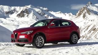 2017 Alfa Romeo Stelvio Euro-spec extensive footage