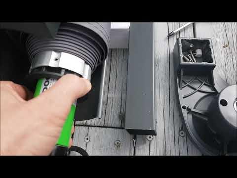 Markisemotor med fjernkontroll - film på YouTube