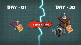 How to GET 6th BUILDER Fast in CLASH OF CLANS - Coc