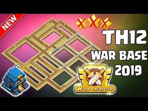 TOP 3 NEW TH12 WAR BASE 2019 (Layout) BEST TOWN HALL 12 WAR