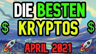 Neue Kryptowahrungen April 2021