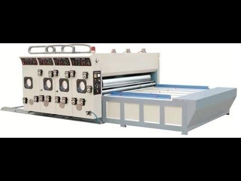 Printer Slotter Machine