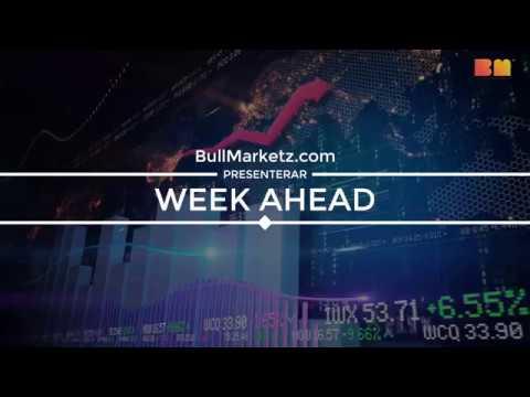 Week Ahead – Vecka 36