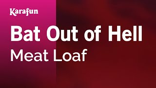 Gambar cover Karaoke Bat Out of Hell - Meat Loaf *
