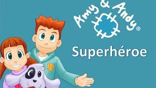 Superheroe Amy y Andy. Música cristiana para niños. Escuela dominical