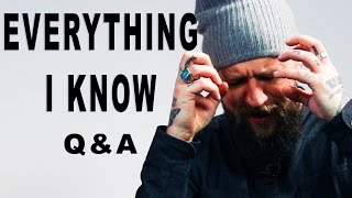 Here is Everything I know (Youtube / Magic / Branding)