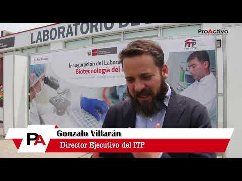 Gonzalo Villarán - Director Ejecutivo del Instituto Tecnológico de la Producción (ITP)