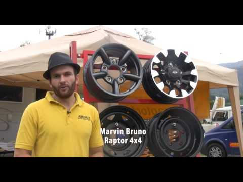 Raptor 4x4: i Cerchi per i fuoristrada