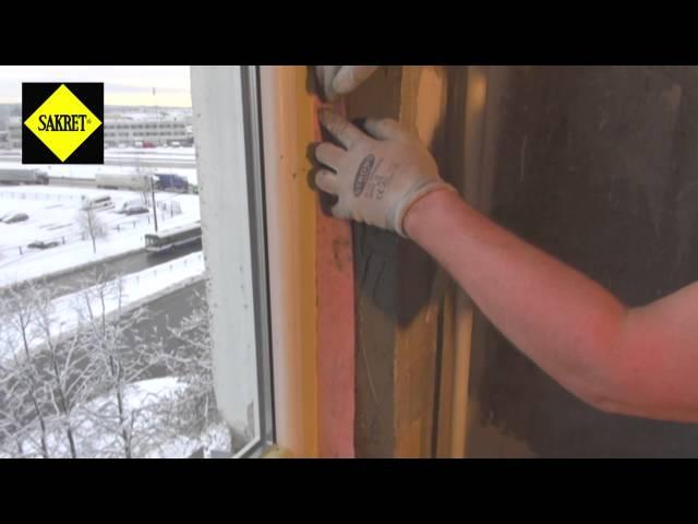 Kā pareizi ielikt jaunu logu ar SAKRET celtniecības materiāliem?