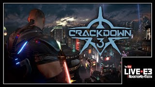 TERRY LOVES CRACKDOWN! Crackdown 3 Gameplay & New Details - YouTube Live at E3