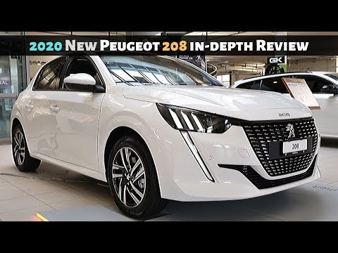 2020 New Peugeot 208 in-depth Review Interior Exterior